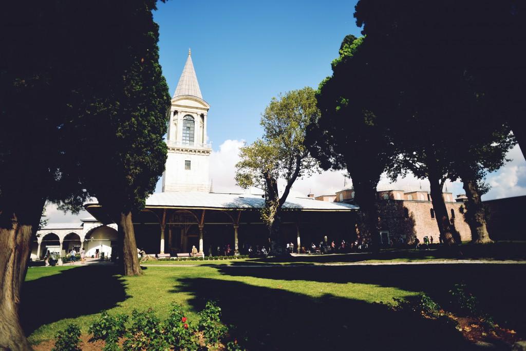 トプカプ宮殿,庭